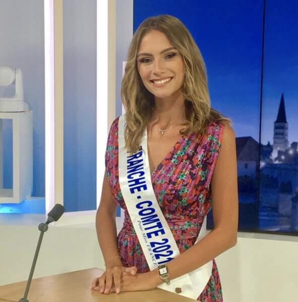 Et voici Julie Cretin, Miss Franche-Comté 2021