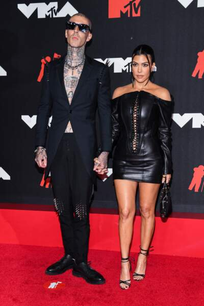... et enfin Kourtney Kardashian et Travis Barker !