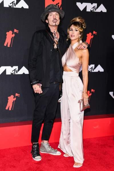 ... Tommy Lee, ex-monsieur Pamela Anderson, et Brittany Furlan...