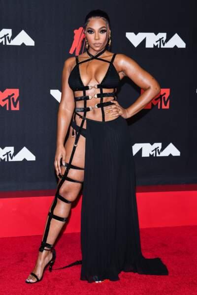 Ashanti, chanteuse star des années 2000.