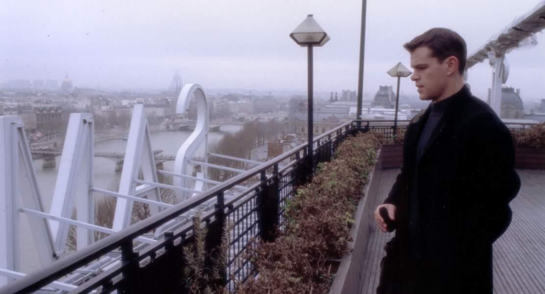 Le personnage de l'agent de la CIA sur les toits de la Samaritaine