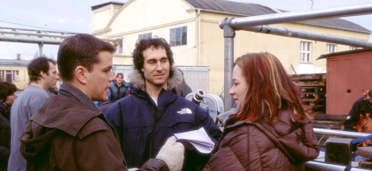 Sur le tournage du premier film avec le réalisateur Doug Liman et l'actrice Franka Potente