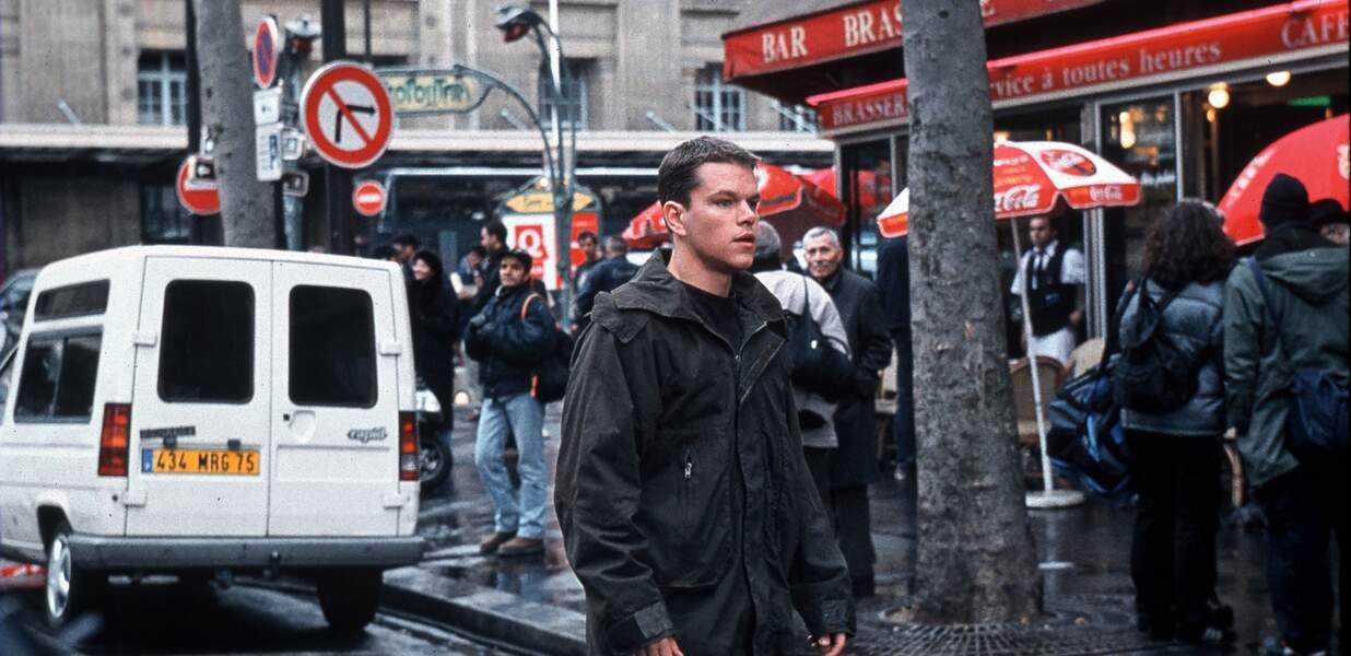 Matt Damon (presque) incognito dans les rues de Paris