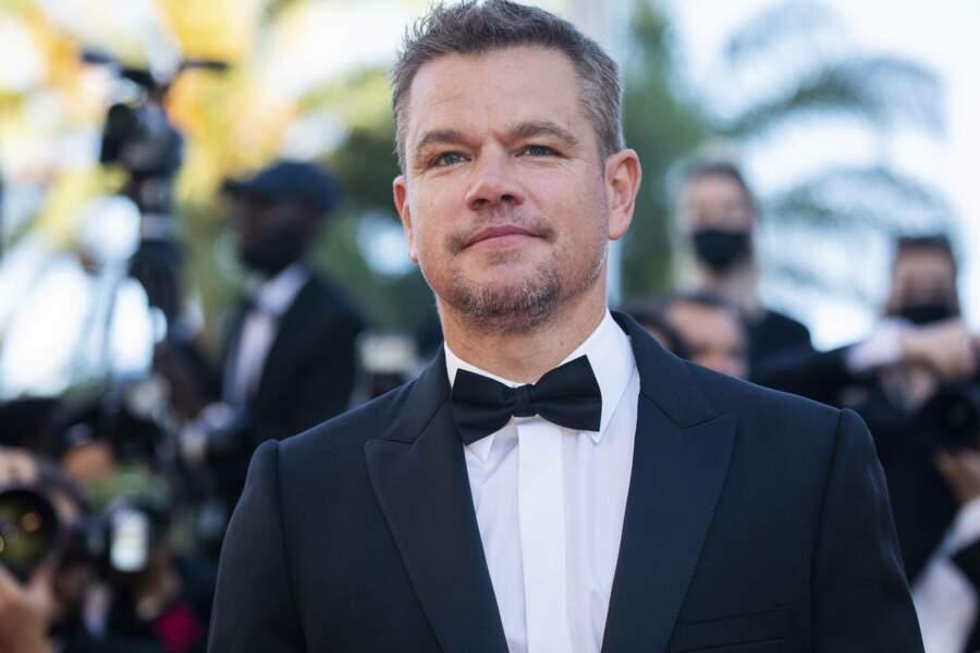 Matt Damon au Festival de Cannes 2021 pour présenter Stillwater