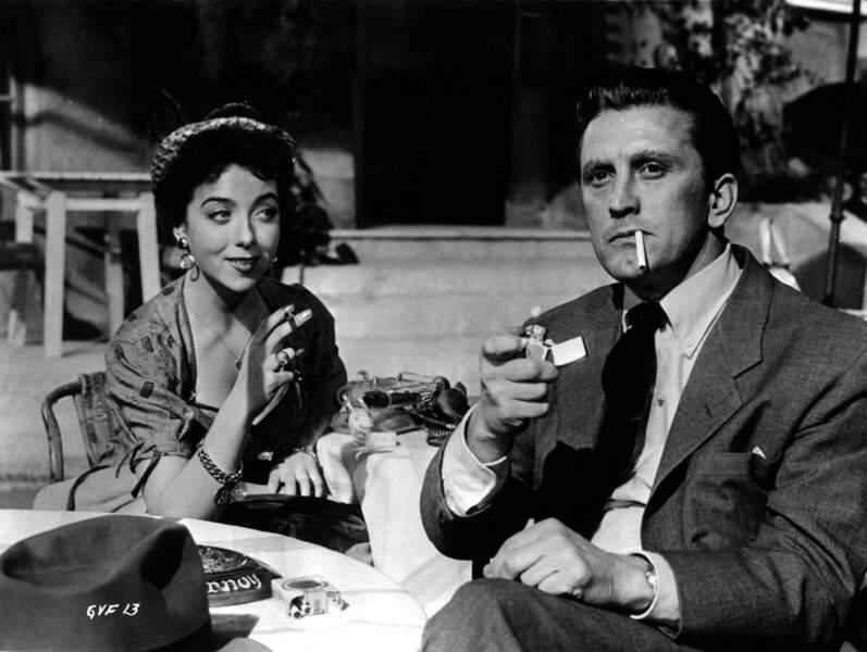 """""""Un acte d'amour"""", avec Kirk Douglas, 1953"""