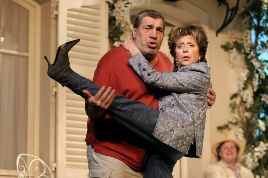 """""""Clémentine"""" au Theatre des Nouveautes, avec Jean-Pierre Castaldi, 2006"""