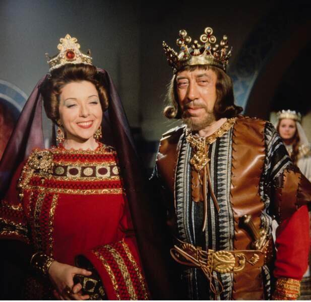 Le bon roi Dagobert, avec Fernandel, 1963