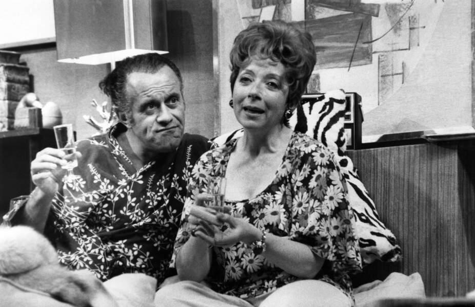 """Au Theatre Ce Soir, """"La Libellule"""", avec Jacques Balutin, 1977"""