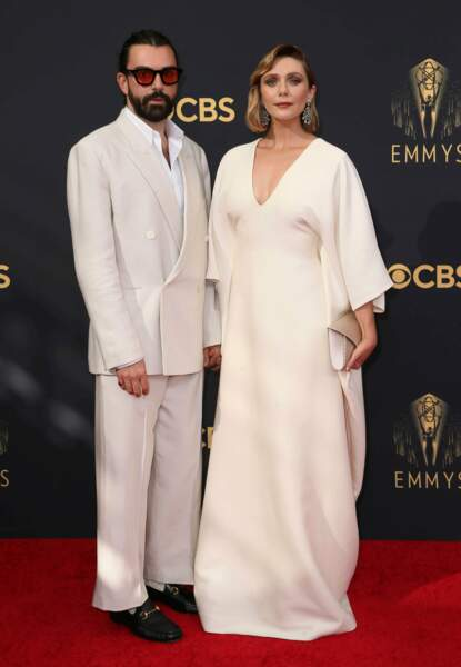 Elizabeth Olsen et son mari Robbie Arnett