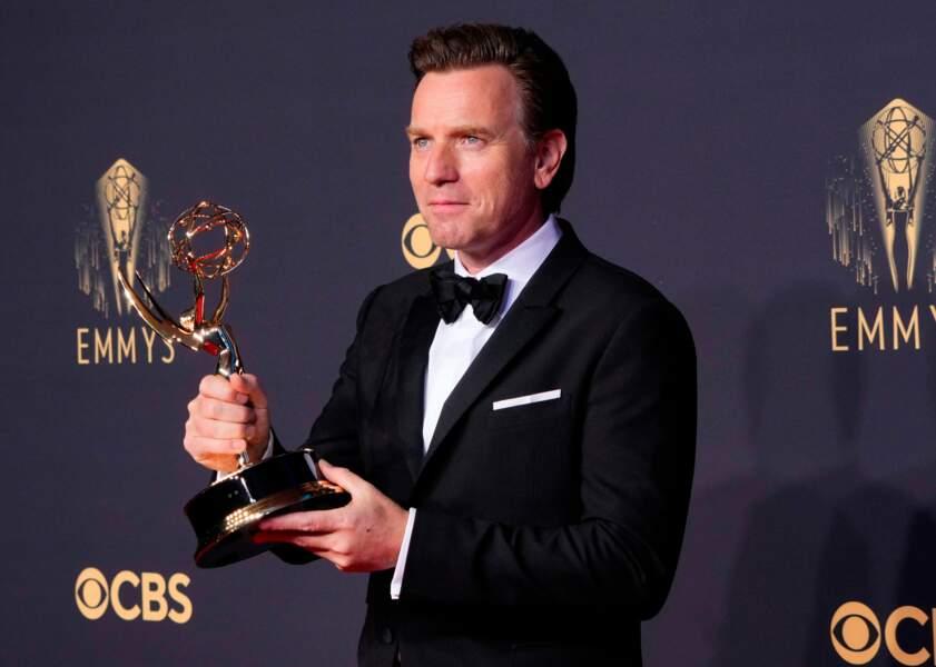 Ewan McGregor, gagnant de l'Emmy Award du meilleur acteur dans une mini-série pour Halston
