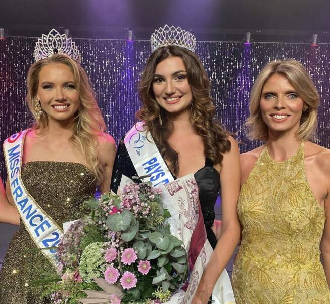 Lina Carvalho a été couronnée Miss Pays de la Loire