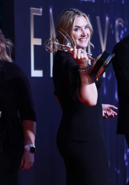 Kate Winslet a été sacrée meilleure actrice dans une mini-série pour son rôle dans Mare of Easttown