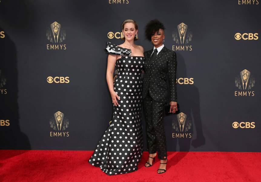 Le couple Lauren Morelli et Samira Wiley, la scénariste et l'actrice d'Orange is the New Black