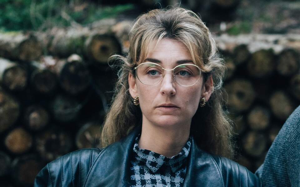 Audrey LeBihan incarne la veuve de Bernard Laroche, Marie-Ange.