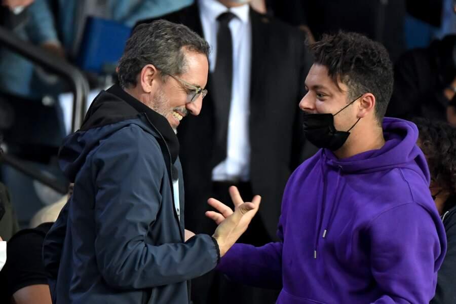 Gad Elmaleh et Kev Adams, deux supporters mordus du PSG