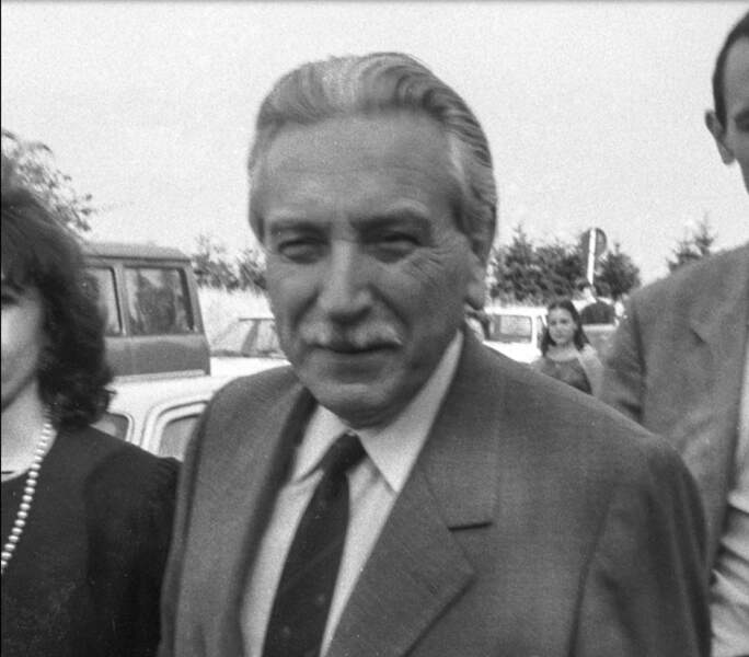 Henri-René Garaud, l'avocat des Villemin, en 1985 à Nancy.