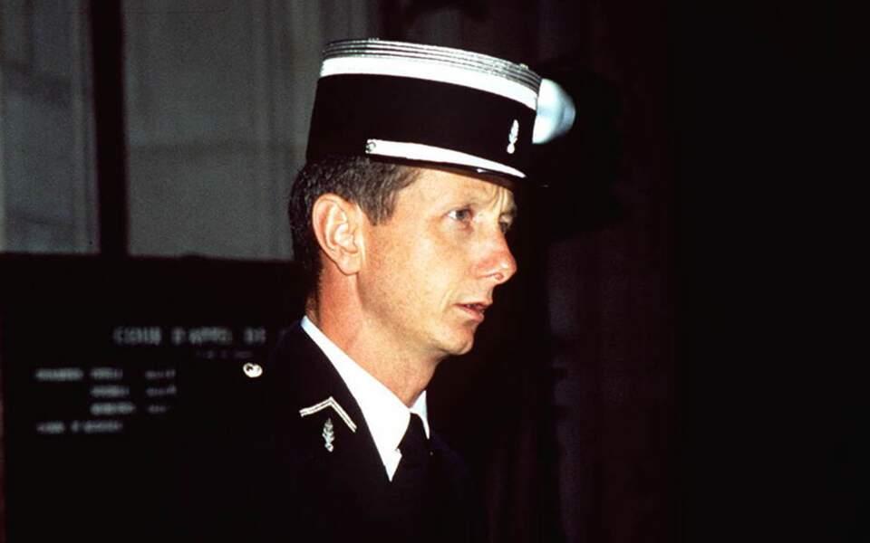 Le capitaine de gendarmerie Étienne Sesmat.