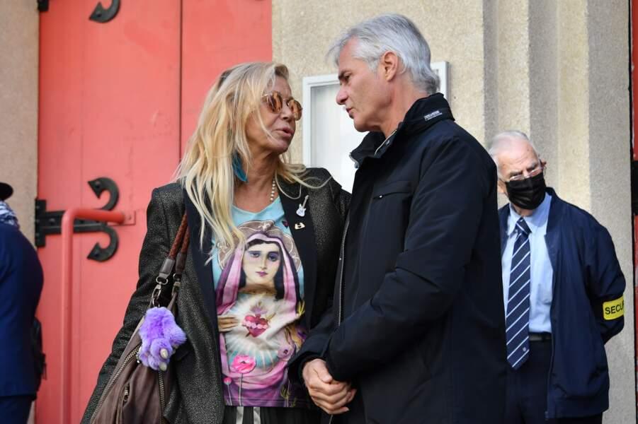 Fiona Gélin et le producteur Cyril Viguier.