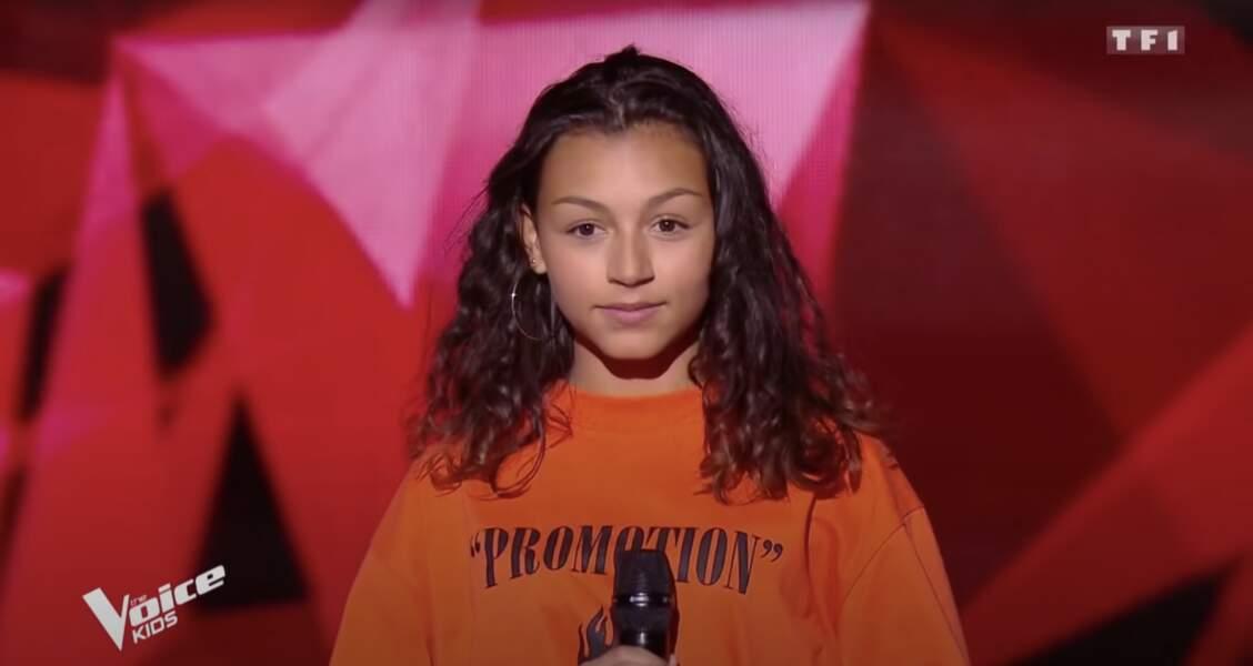 Océane, talent de la sixième saison de The Voice Kids