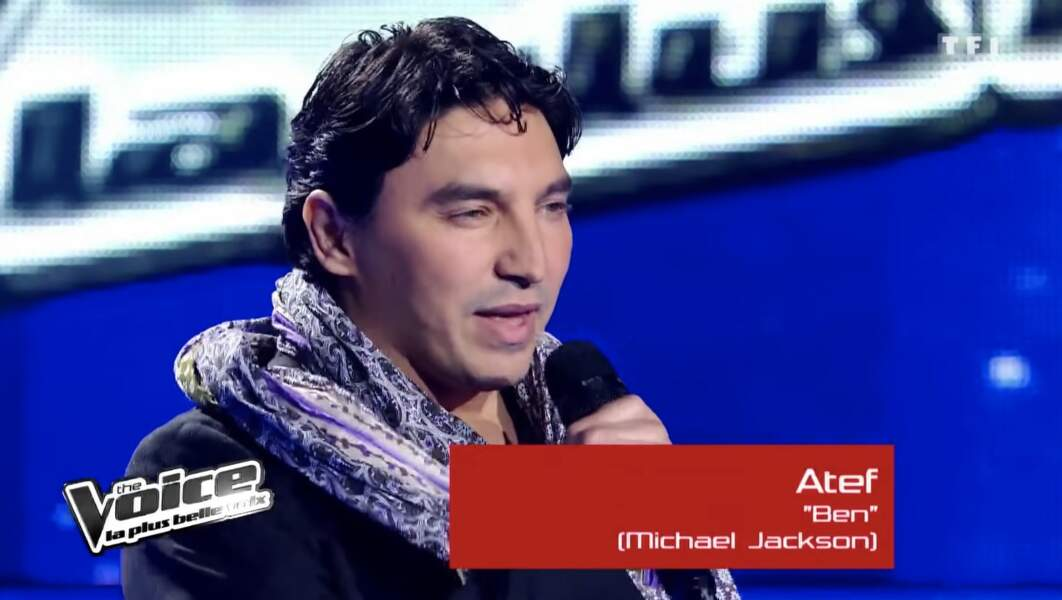 Atef, demi-finaliste de Garou lors de la saison 1
