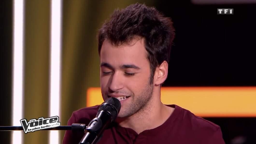 Anthony Touma, demi-finaliste de Jenifer lors de la saison 2