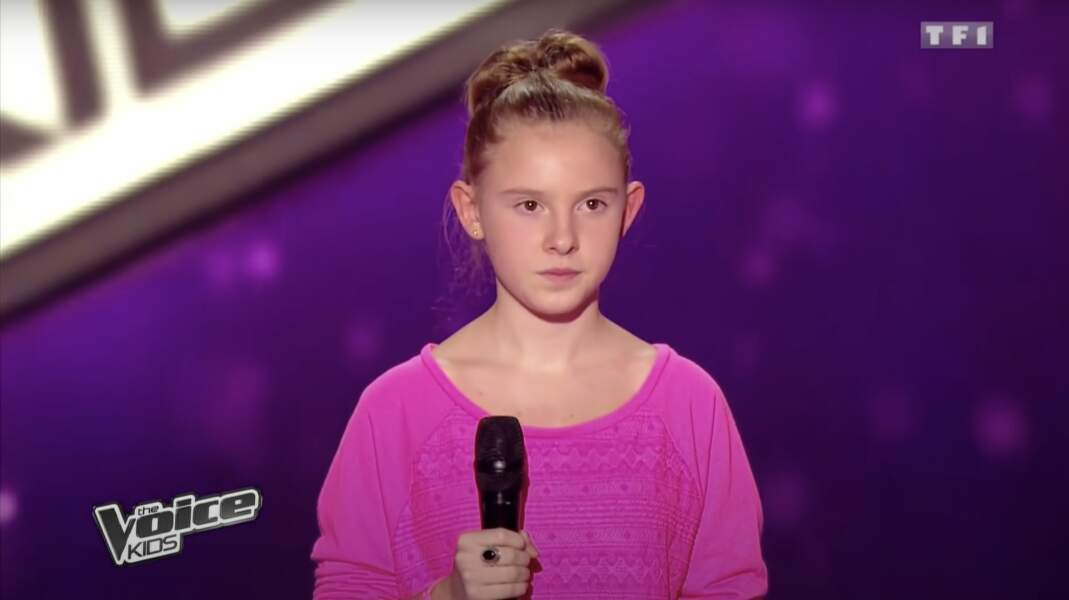 Charlie, talent de l'équipe de Louis Bertignac lors de la saison 1 de The Voice Kids