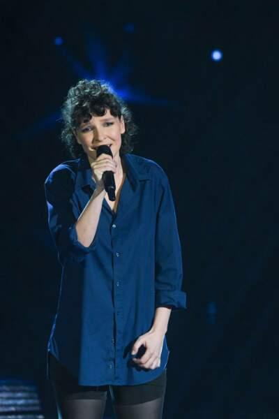 Nouveau look pour son retour dans The Voice All-Stars