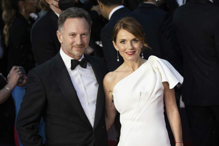 L'ancienne Spice Girls Geri Halliwell et son mari Christian Horner