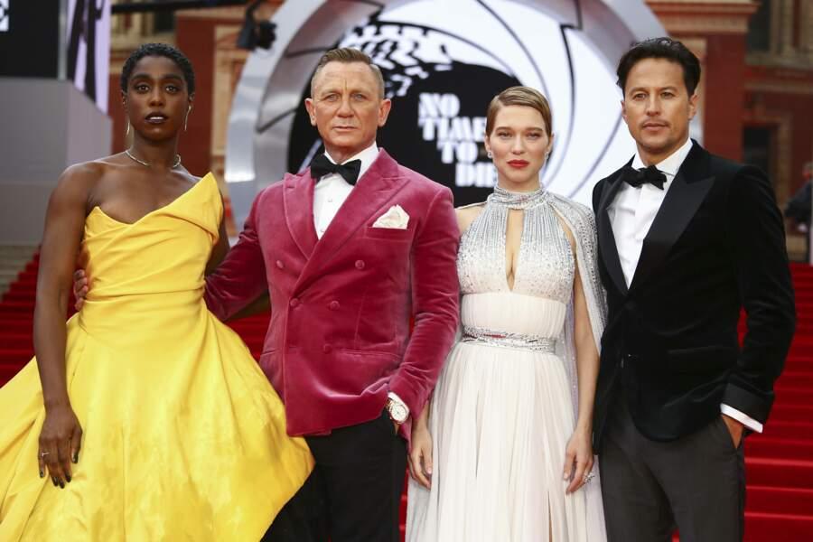 Une grande partie du casting du film était réunie pour cette avant-première mondiale