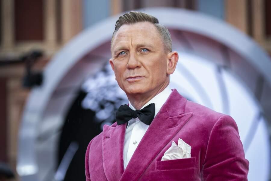 L'interprète de l'agent 007, bien sûr, Daniel Craig