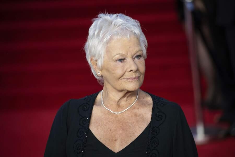 Judi Dench, qui a joué M dans 7 James Bond, jusqu'en 2012