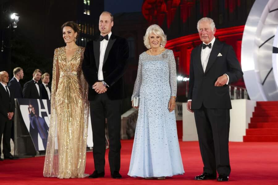Mais ils n'étaient pas les seuls membres de la famille royal présents
