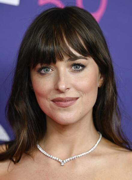 Dakota Johnson présentait le film The Lost Daughter à New York le 29 septembre dernier