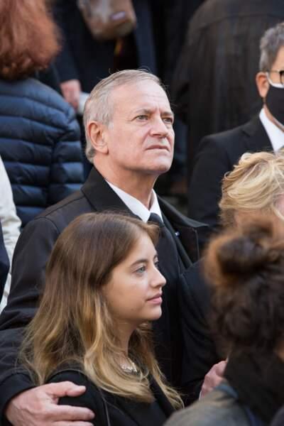 Francis Huster et sa fille Elisa