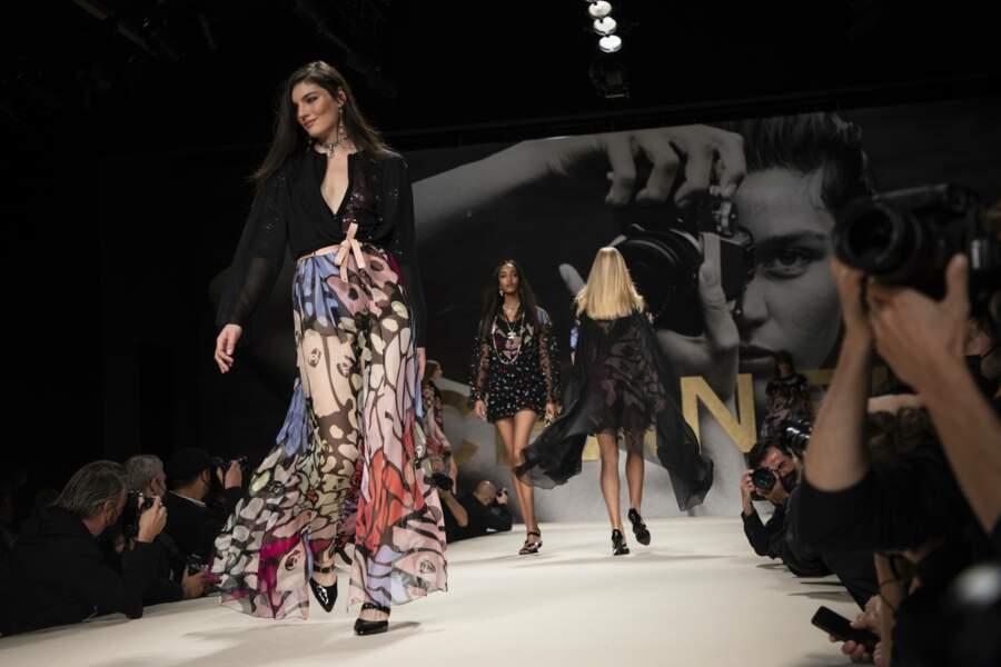 Un aperçu du défilé Chanel prêt-à-porter Printemps-Été 2022