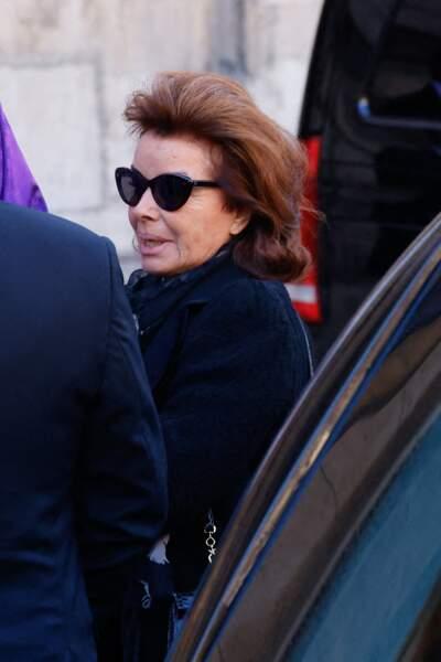 Dominique Tapie, sa veuve