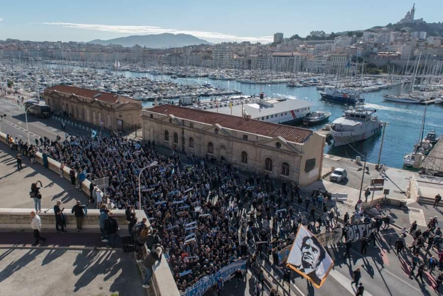 L'ambiance au centre de Marseille...