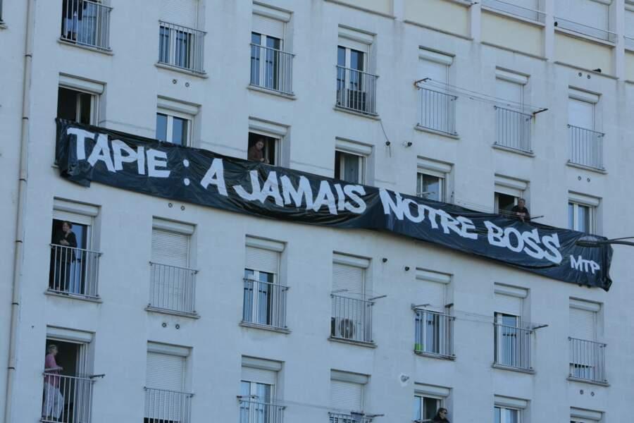 L'hommage des marseillais.