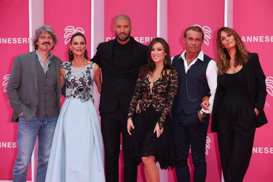 Cette année, le casting de la série Les Mystères de l'Amour était présent en force pour dévoiler un nouvel épisode et les coulisses de la série diffusée sur TMC.