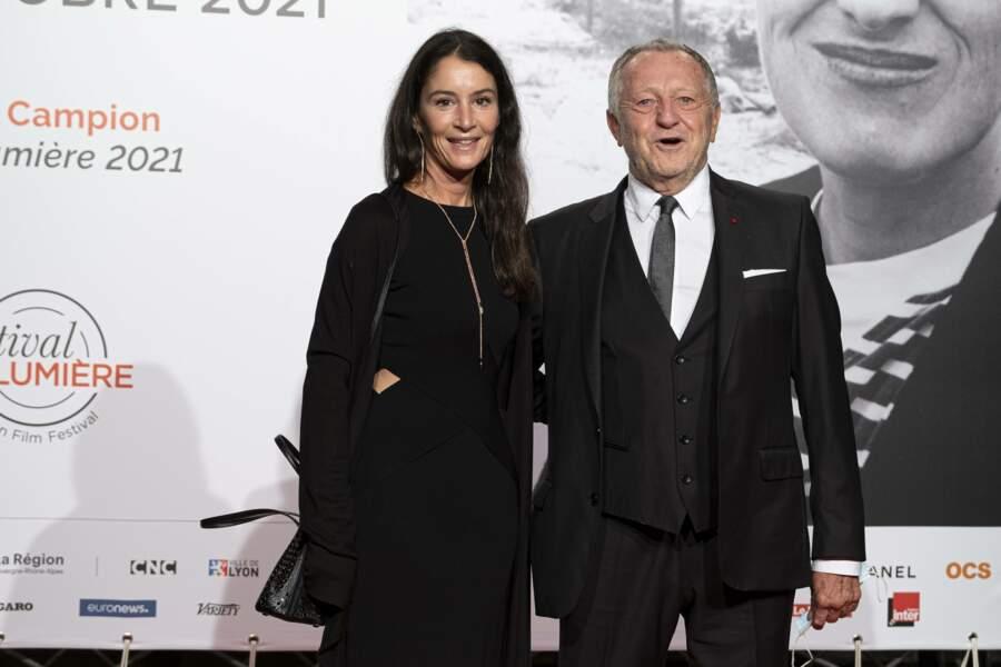Jean-Michel Aulas et sa fille