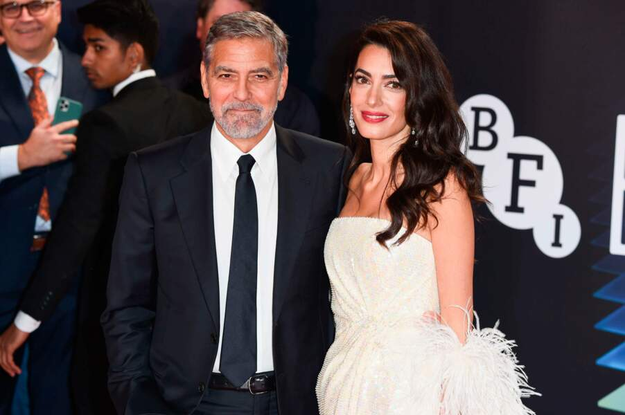 George et Amal Clooney glamour au London Film Festival