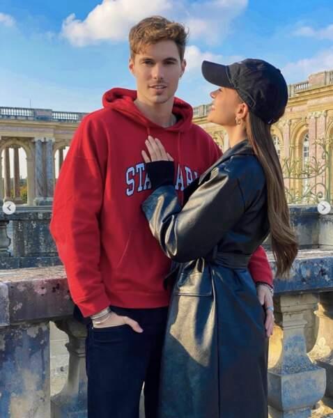 Et l'influenceuse Léa Elui était avec son chéri Scott à Versailles.