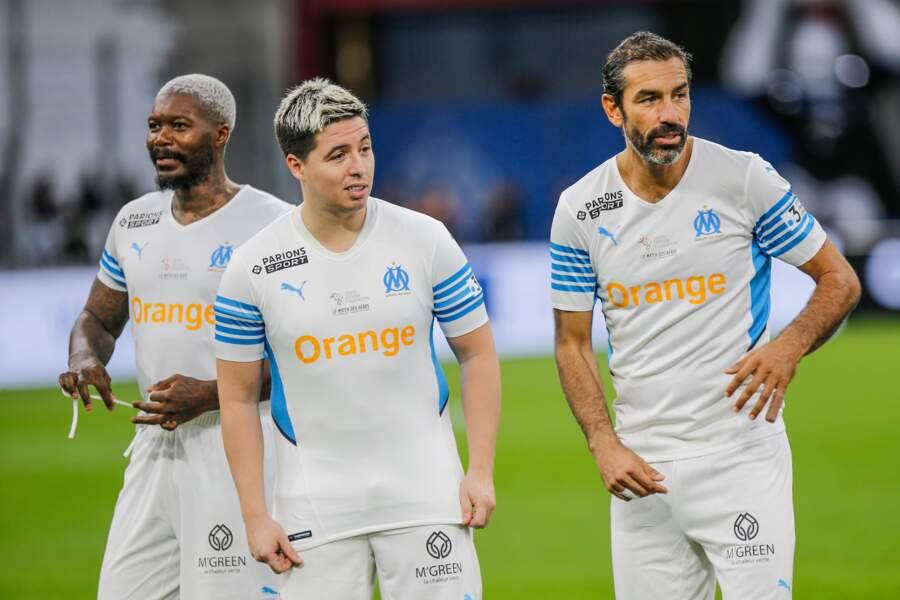 Djibril Cissé, Samir Nasri et Robert Pirès ont tout donné.